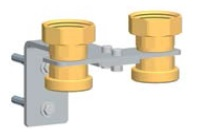 PAW Wall Bracket Set DN32